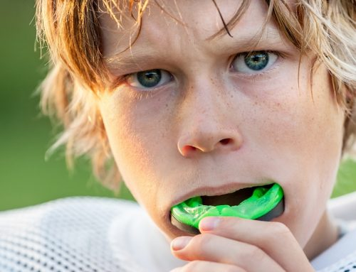 Mouthguards Protect Athletes' Smiles